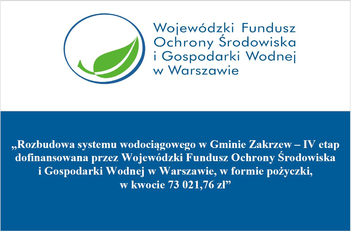 Tablica informacji o rozbudowie systemy wodociągowego