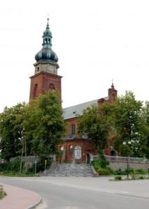 Cerekiew, kościół parafialny p.w. św. Stanisława Bpa, 1929 r.
