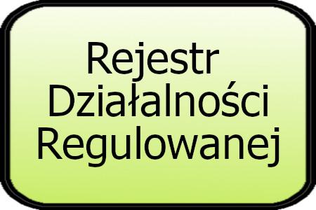 Rejestr Działalności regulowanej